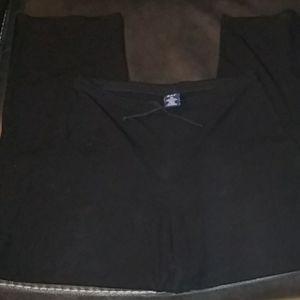 Gap womens black draw string pants good condition